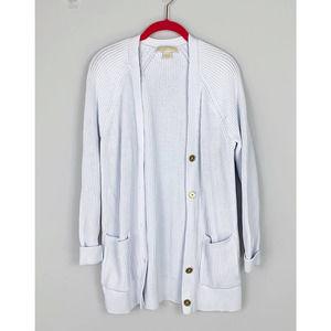 Michael Michael Kors Button Up Cardigan White